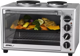 Horno Electrico Grill Atma Hg-4010ae C/ Anafes
