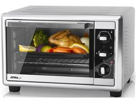 Horno Grill Atma 20lts Gris Hg 2010 1200w Timer Termostato